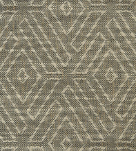 "Warm Gray Mountain Tribal Jacquard Euro Sham Self Flange 27""x27"""