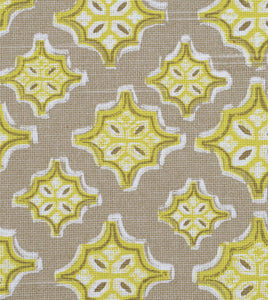 "Yellow Mountain Resort Geometric Cotton Standard Sham With Welt 20""x27"""