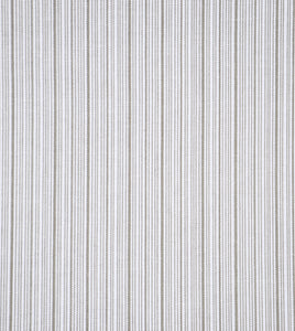 "Kiel Fawn Light Gray Mountain Resort Stripe Standard Sham With Welt 20""x27"""