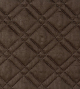 Brown Geometric Rustic 100% Egyptian Cotton Coverlet