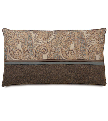 Powell Paisley Ribbon King Sham in Neutral 21