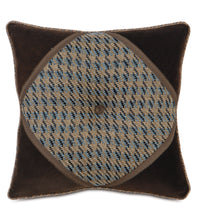 "Powell Textured Button Cord Accent Pillow 18""x18"""