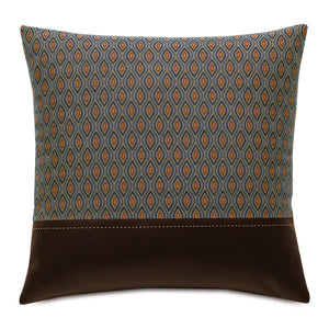 "Rudy Rust Ogee Mountain Lodge Throw Pillow 20""x20"""