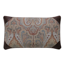 "Rudy Rust Paisley Mountain Lodge Lumbar Throw Pillow 13""x22"""