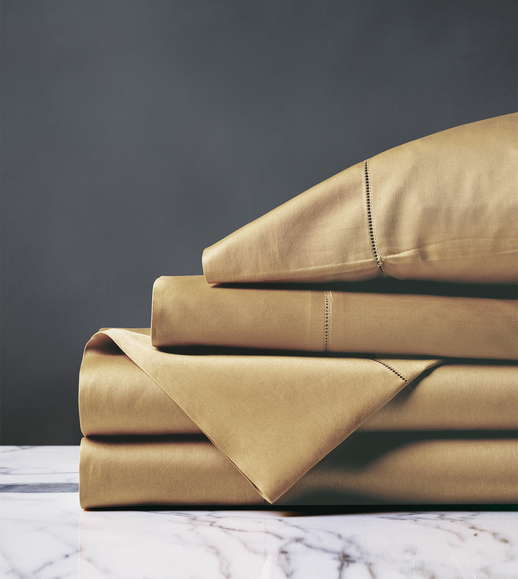 Roma Classic Antique Luxury Fine Linen Sheet Set