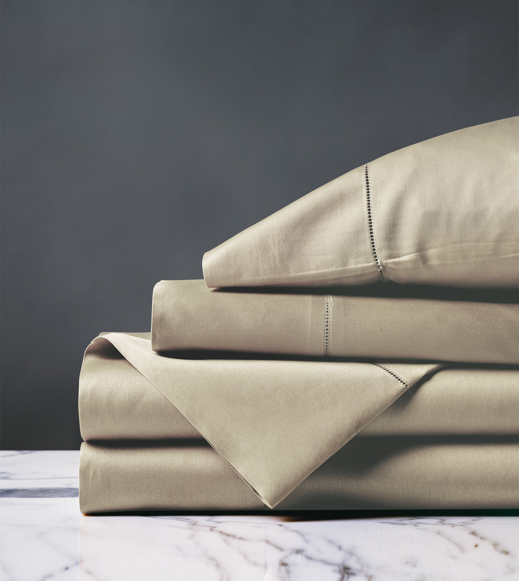 Roma Luxe Sable Luxury Fine Linen Sheet Set