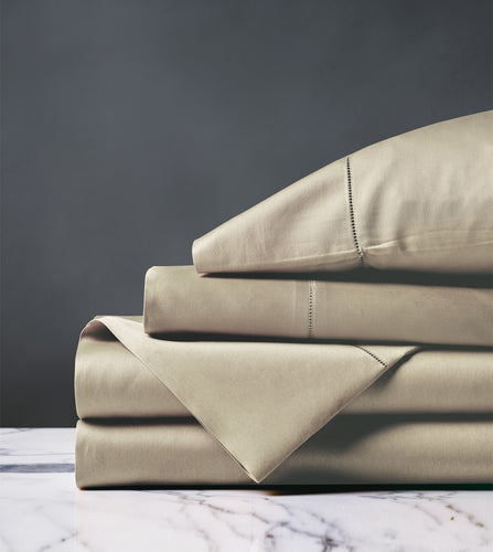 Roma Classic Sable Luxury Fine Linen Sheet Set