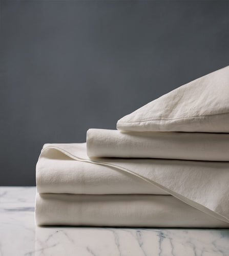 Shiloh Linen Luxury Fine Linen Sheet Set