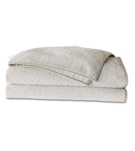 Thom Filicia Modern Neutral Textured Coverlet