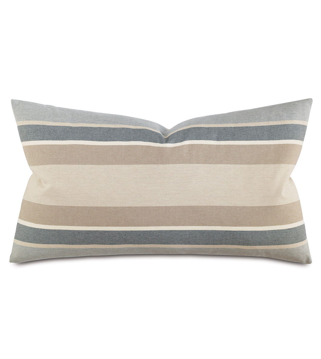 Wainscott Buff Striped King Sham  21