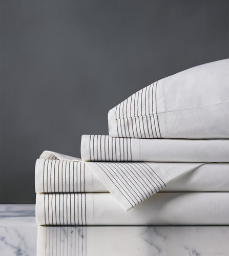 Marsden Dove Luxury Fine Linen Sheet Set