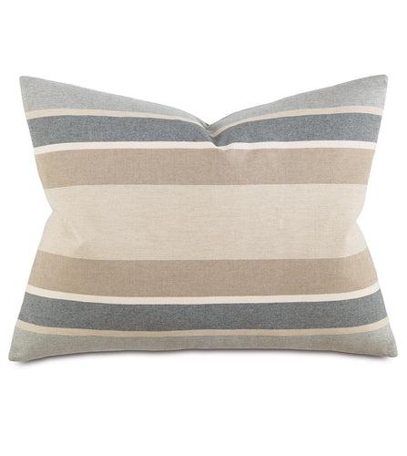 Wainscott Buff Striped Standard Sham 20