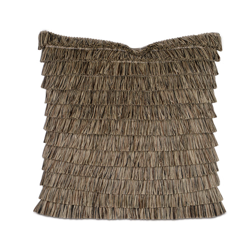 Brush Fringe Layered Accent Pillow 22