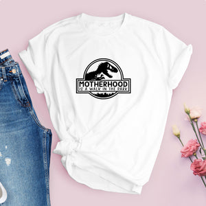 MotherHood Walk in The Park Ladies Tshirt
