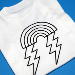 Rainbow Lightening Children's Tshirt
