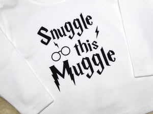 Snuggle This Muggle - Long Sleeve Top