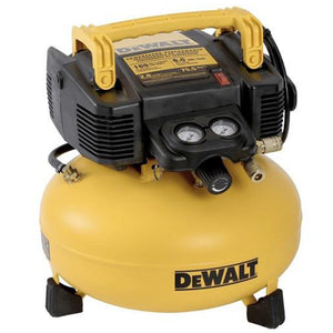 Heavy Duty Pancake Air Compressor 6 Gal. 165 Psi - DWFP55126
