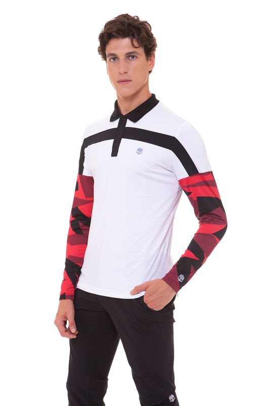 GOLF POLO LS
