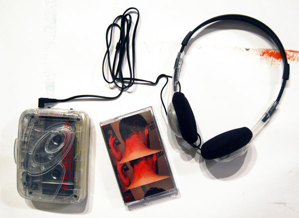StrangeCalls Prison Issued Walkman & Tape Set