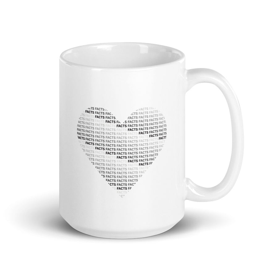 I Heart Facts Mug