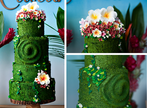 Learn to create an aloha, tropical paradise themed cake at The Ultimate Sugar Show in Atlanta, GA on Nov 9, 2019 from 10 AM - 1 PM.
