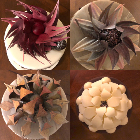 Learn to create chocolate flower cake toppers at The Ultimate Sugar Show in Atlanta, GA  on Nov 10, 2019 from 8 AM - 11 AM.