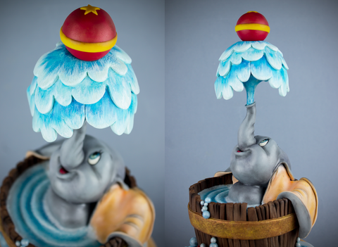 Learn to create this adorable dumbo cake at The Ultimate Sugar Show in Atlanta, GA.