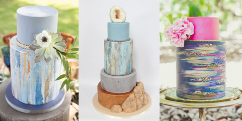 Learn to create modern textures & use metallics on cakes at The Ultimate Sugar Show in Atlanta, GA on Nov 9, 2019 from 11:30 AM - 1:30 PM.