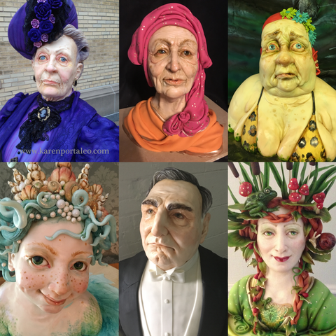 Learn to create realistic human faces at The Ultimate Sugar Show in Atlanta, GA  on Nov 10, 2019 from 8 AM - 12 PM.