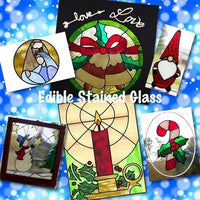Edible, Holiday Stained Glass Decorations with Marilyn Bawol | The Ultimate Sugar Show. Atlanta, GA.