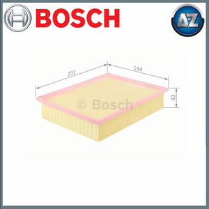 GENUINE BOSCH CAR AIR FILTER S0037 F026400037
