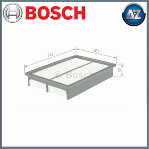 GENUINE BOSCH CAR AIR FILTER S0062 F026400062