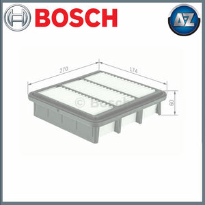 GENUINE BOSCH CAR AIR FILTER S0091 F026400091