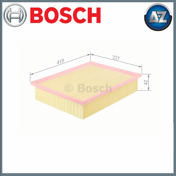 GENUINE BOSCH CAR AIR FILTER S0122 F026400122