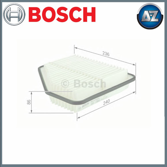 GENUINE BOSCH CAR AIR FILTER S0176 F026400176