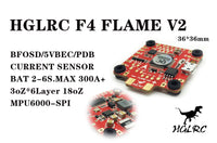 HGLRC F4 FLAME V2 FLIGHT CONTROLLER