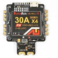 Sunrise Siskin BLHeli-32 30A 4in1 ESC F4 FC AIO with OSD