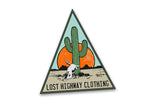 Lost Hwy Cactus Sticker