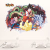 Dragon Ball Removable Wall Sticker 3D - SaiyanBall