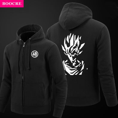 Dragon Ball Classical Goku Stylish Baseball Varsity Jacket - SaiyanBall