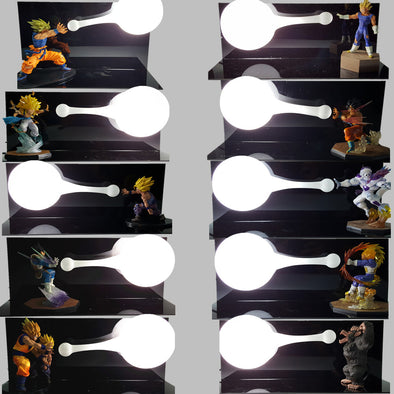 Dragon Ball Z Table Lamp Luminaria LED - SaiyanBall