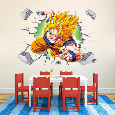 3D cute dragon ball sticker Goku - SaiyanBall