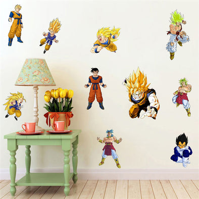 Removable 3d dragon ball wall stickers - SaiyanBall