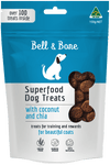 healthy natural australian made dog treats, coconut and chia superfood puppy treats