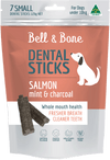 Salmon, Mint and Charcoal Dental Sticks