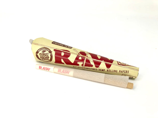 RAW - 1 1/4 Pre-Rolled Cones