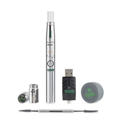 Ooze Fusion vaporizer in chrome sold at GreenLabs a medical cannabis dispensary located in the heart of Fell's Point, Maryland.
