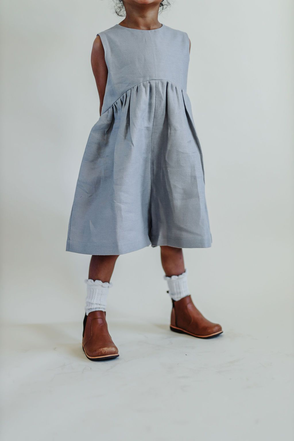 Billow Culotte Romper