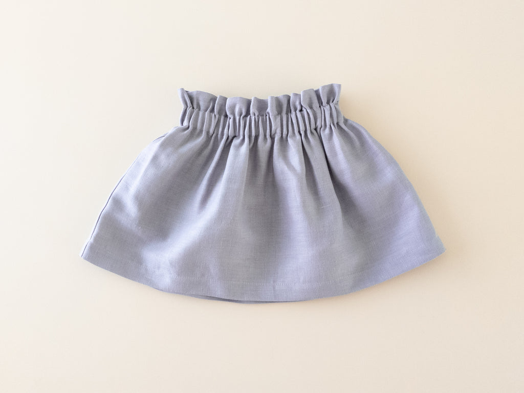 Bag-waist Skirt | Heather