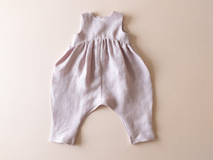 SAMPLE SALE Billow Romper | Light Blush, 6-12 months